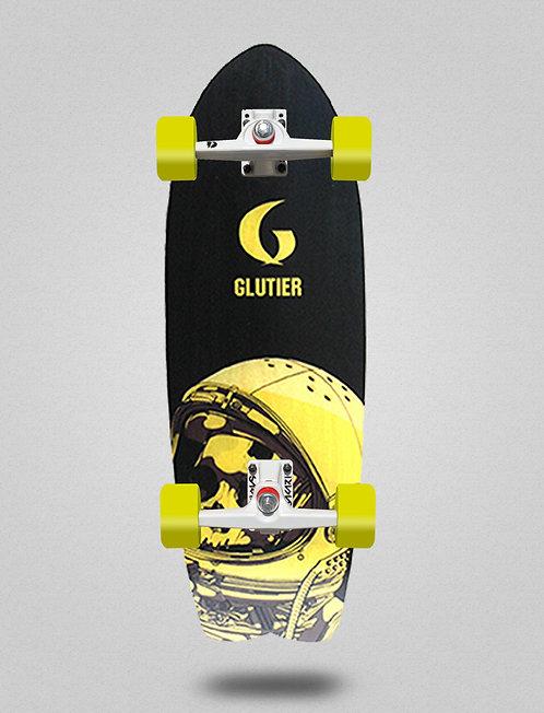 Glutier surfskate - Space mirror yellow 29