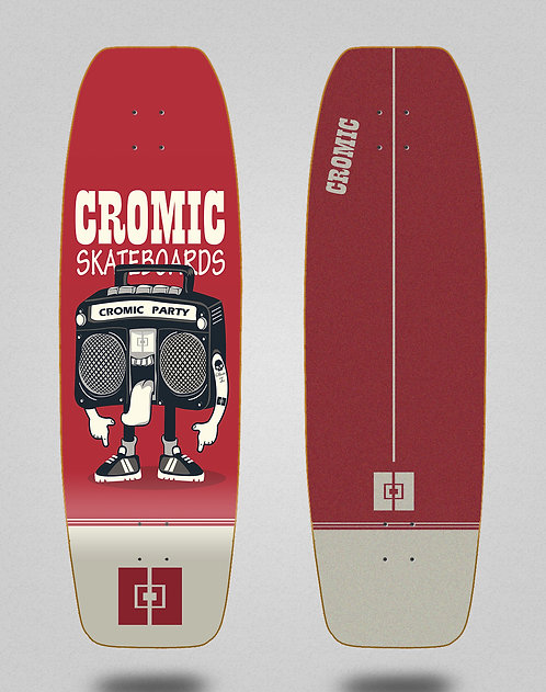 Cromic surfskate deck - Party 31.5 fat nose