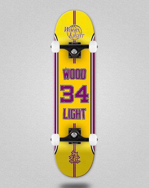 Wood light Basket 34 skate complete