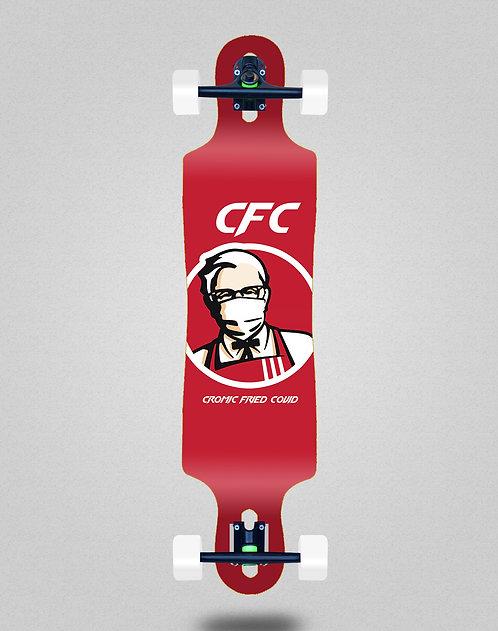 Cromic Covid Fried longboard complete 40x9