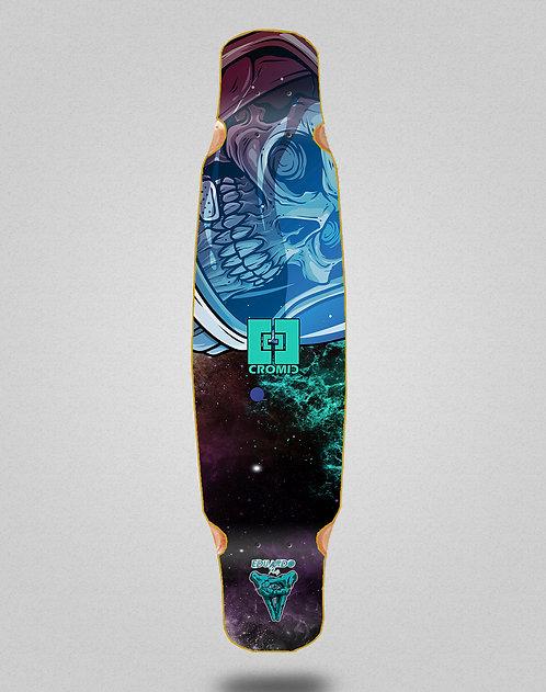 Cromic Eduardo Prieto Space dead longboard deck dance mix bamboo 46x9