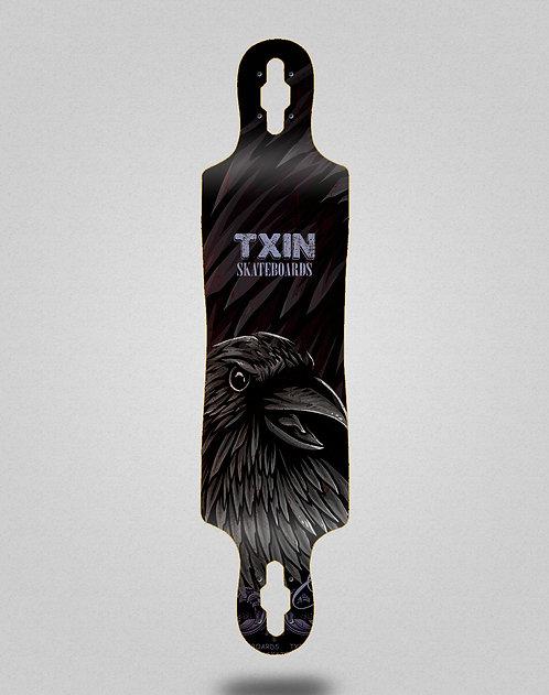 Txin Crow longboard deck 40x9
