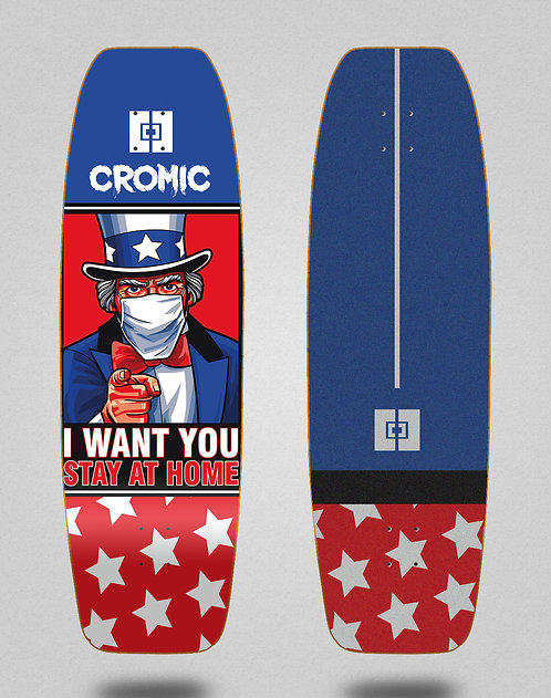 Cromic surfskate deck - Covid I Want you 31.5