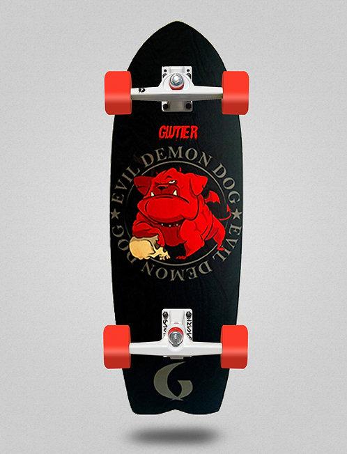 Glutier surfskate - Demon dog 29