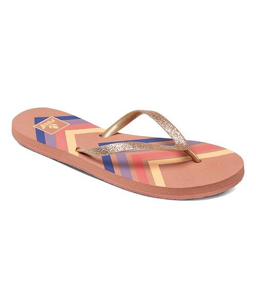 Sandalias chanclas cholas sandals Reef surf stargazer prints dusty pink