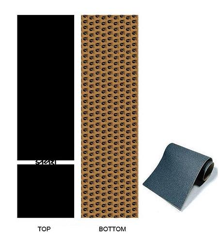 Sakari skate griptape Line white Anti bubbles 84x23cm