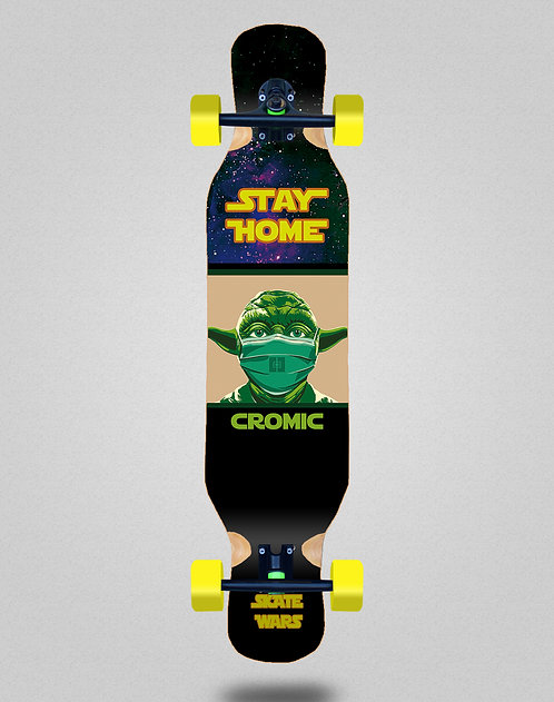 Cromic Covid Skate wars longboard complete 46x10