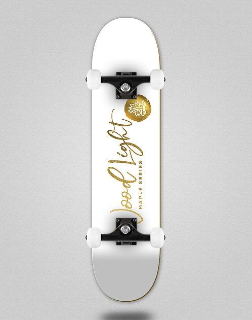 Wood light maple gold Neto skate complete