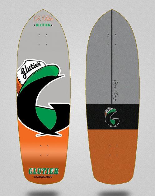 Glutier deck: California orange 34