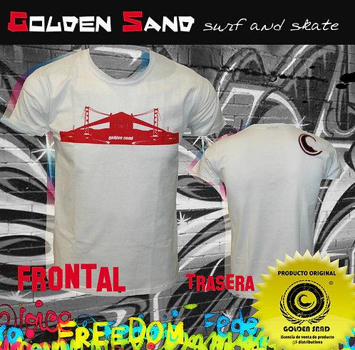 Golden Sand. T-shirt San Francisco