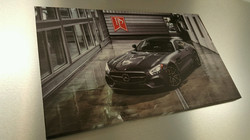 Canvas Print we did for Park Place