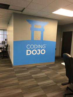 Coding Dojo Wall Wrap