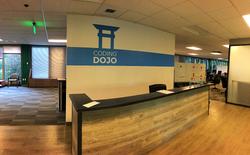 Coding Dojo Wall Graphic