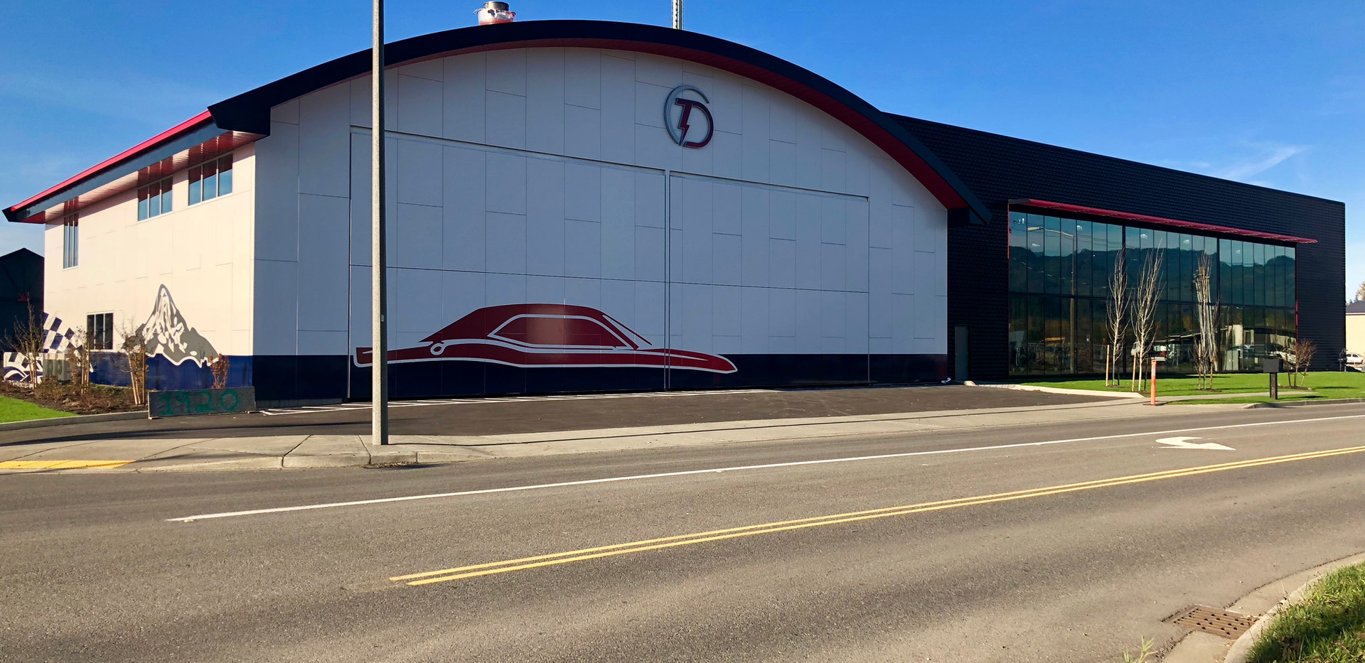 Thunder Dome Car Museum Front