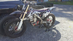 Graphics Kit we printed for a CRF450