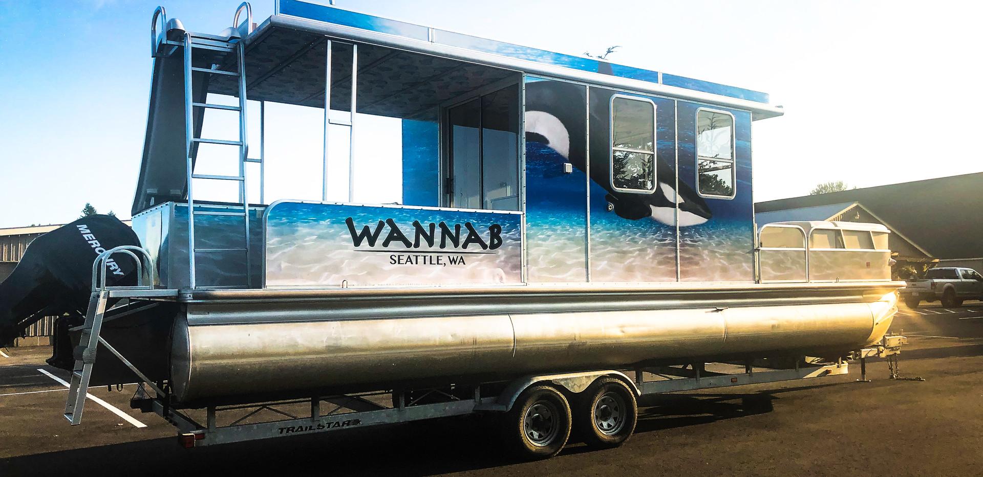 WannaB House Boat