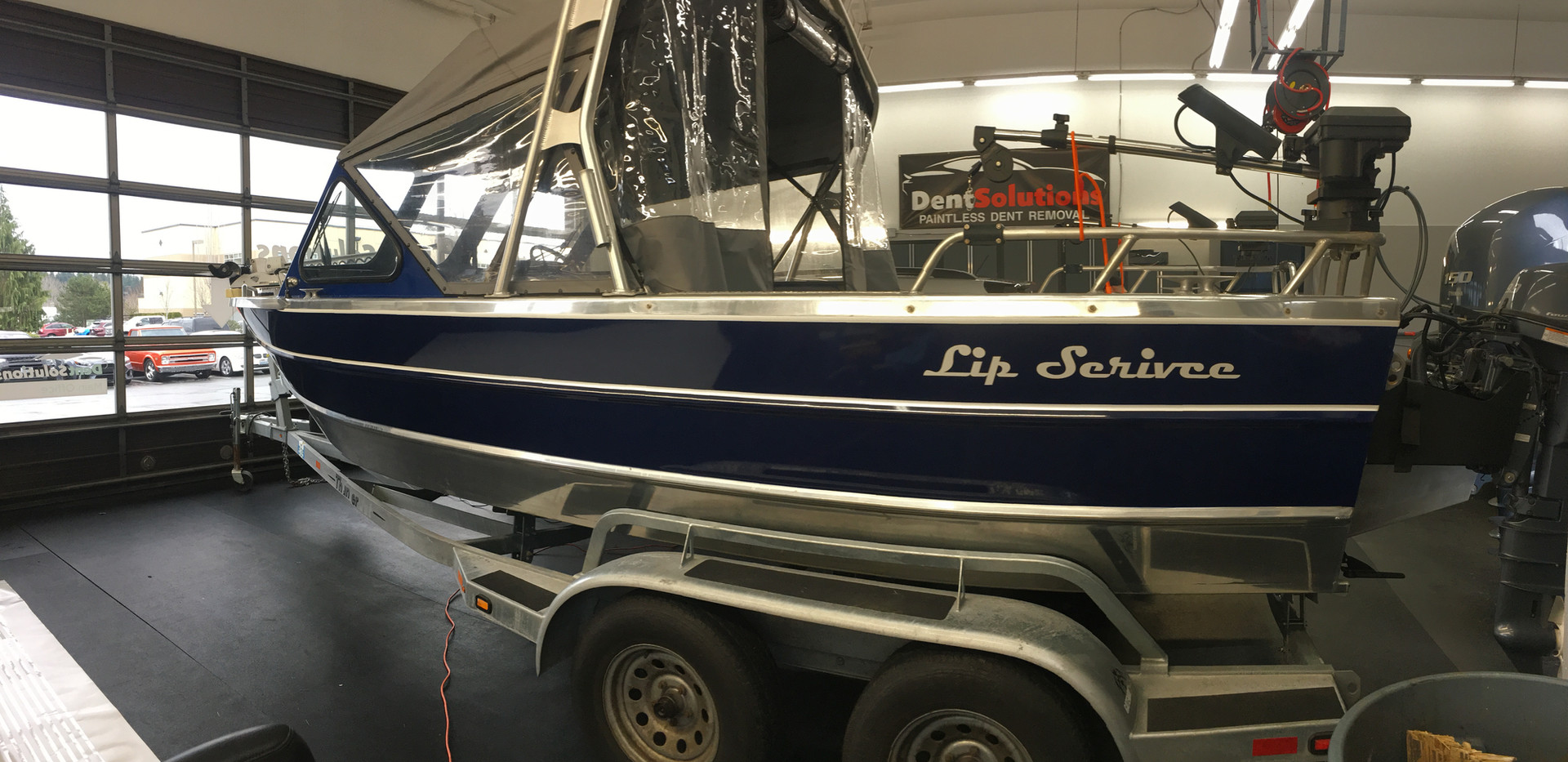 Complete Boat Wrap