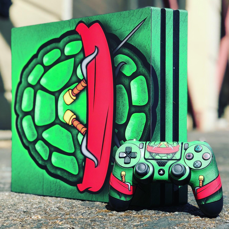 Ninja Turtle Wrap