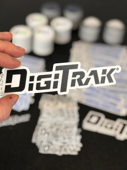 DigiTrak Die-Cut Stickers