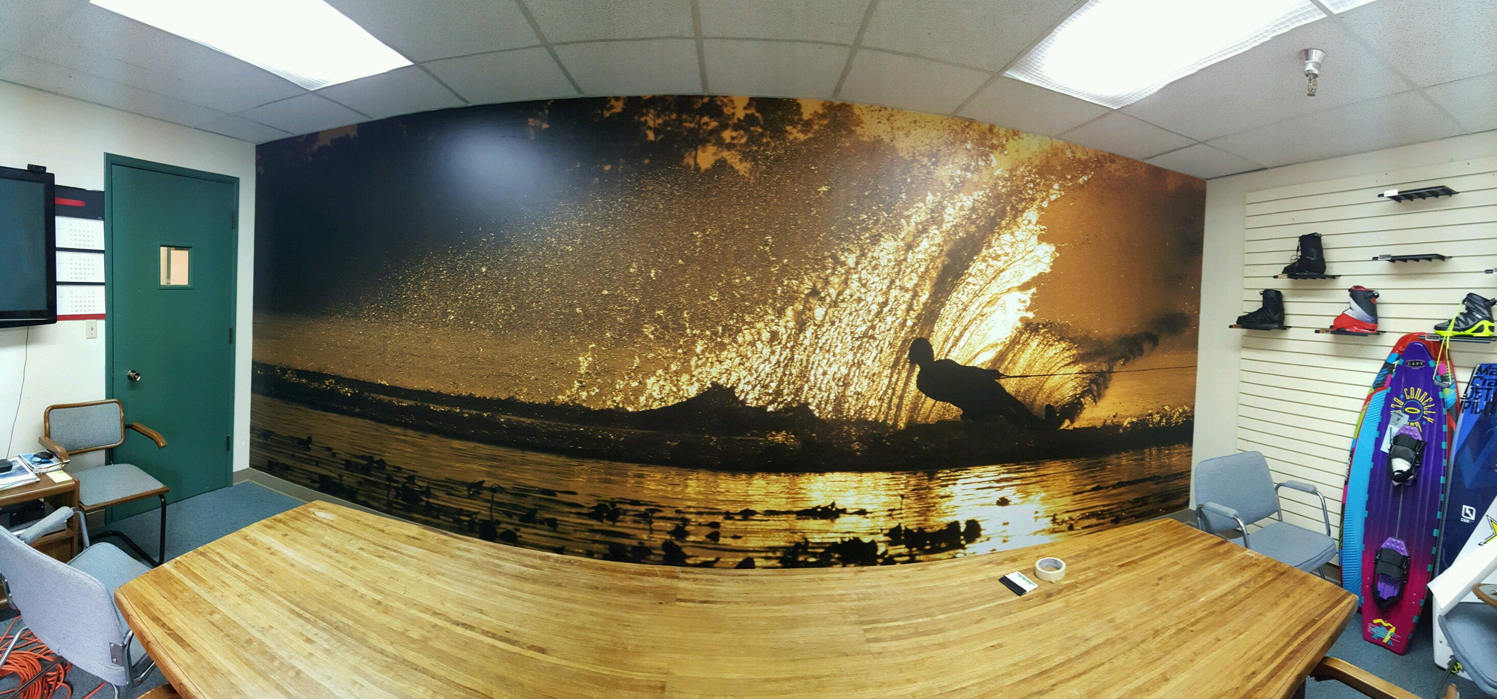 Wall Wrap we did in Lynnwood WA