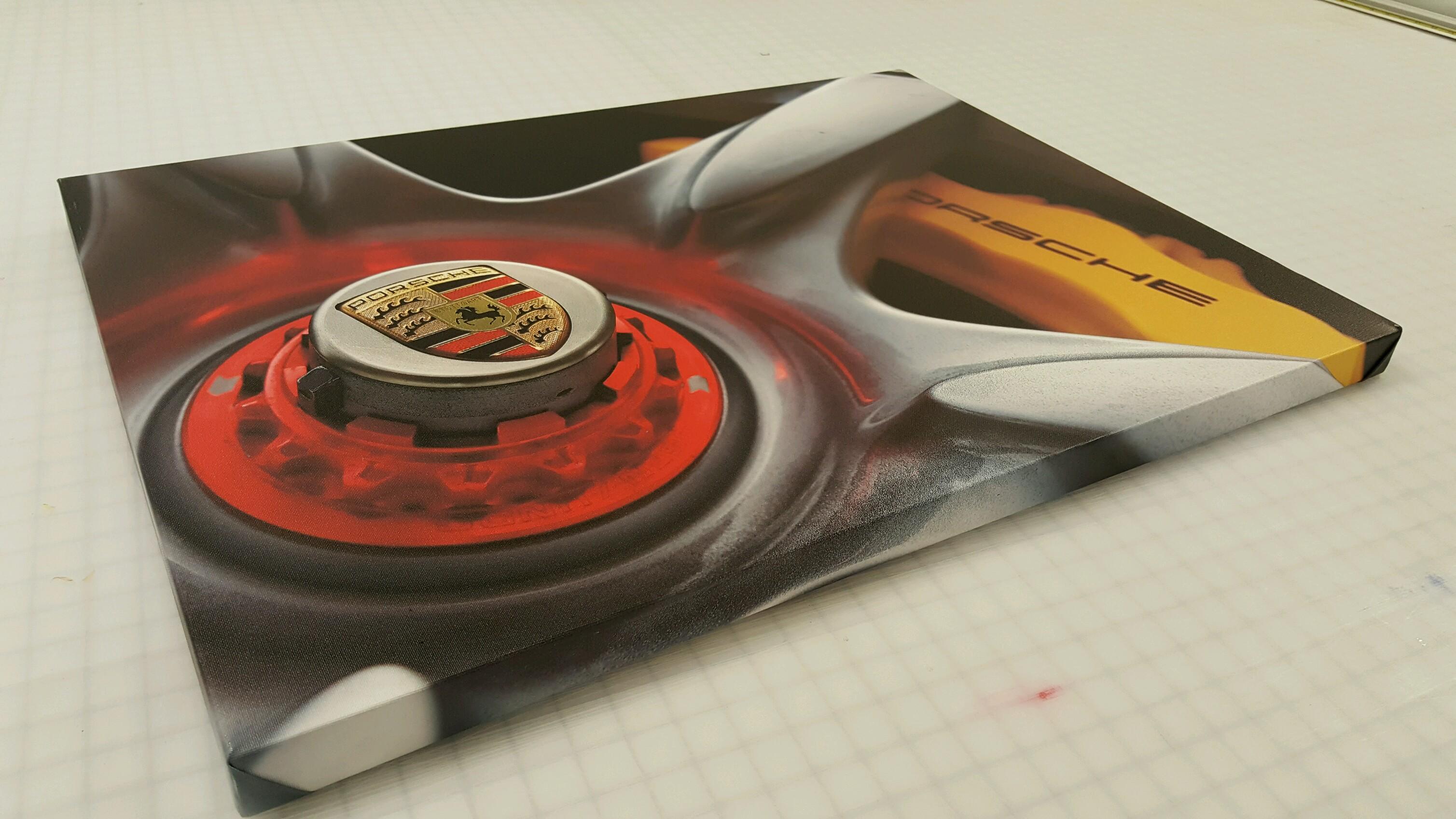 Porsche Canvas Print
