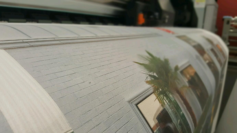 Canvas Printing Process