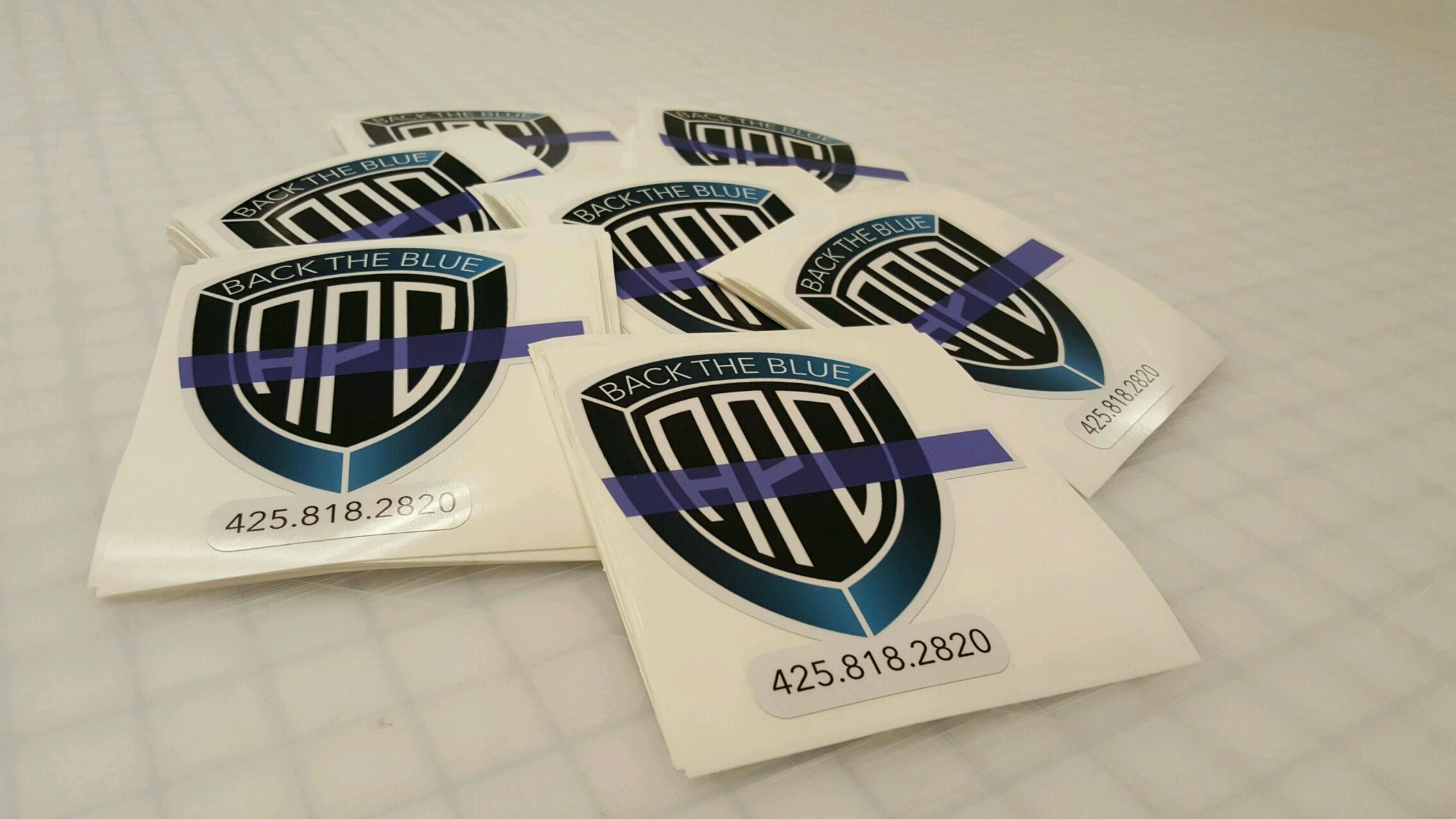 Sticker printing at ardor