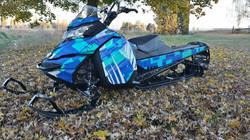 sled wraps snowmobile graphics kit