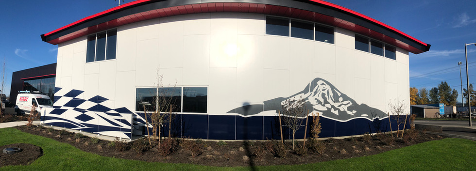 Building Wrap Side View
