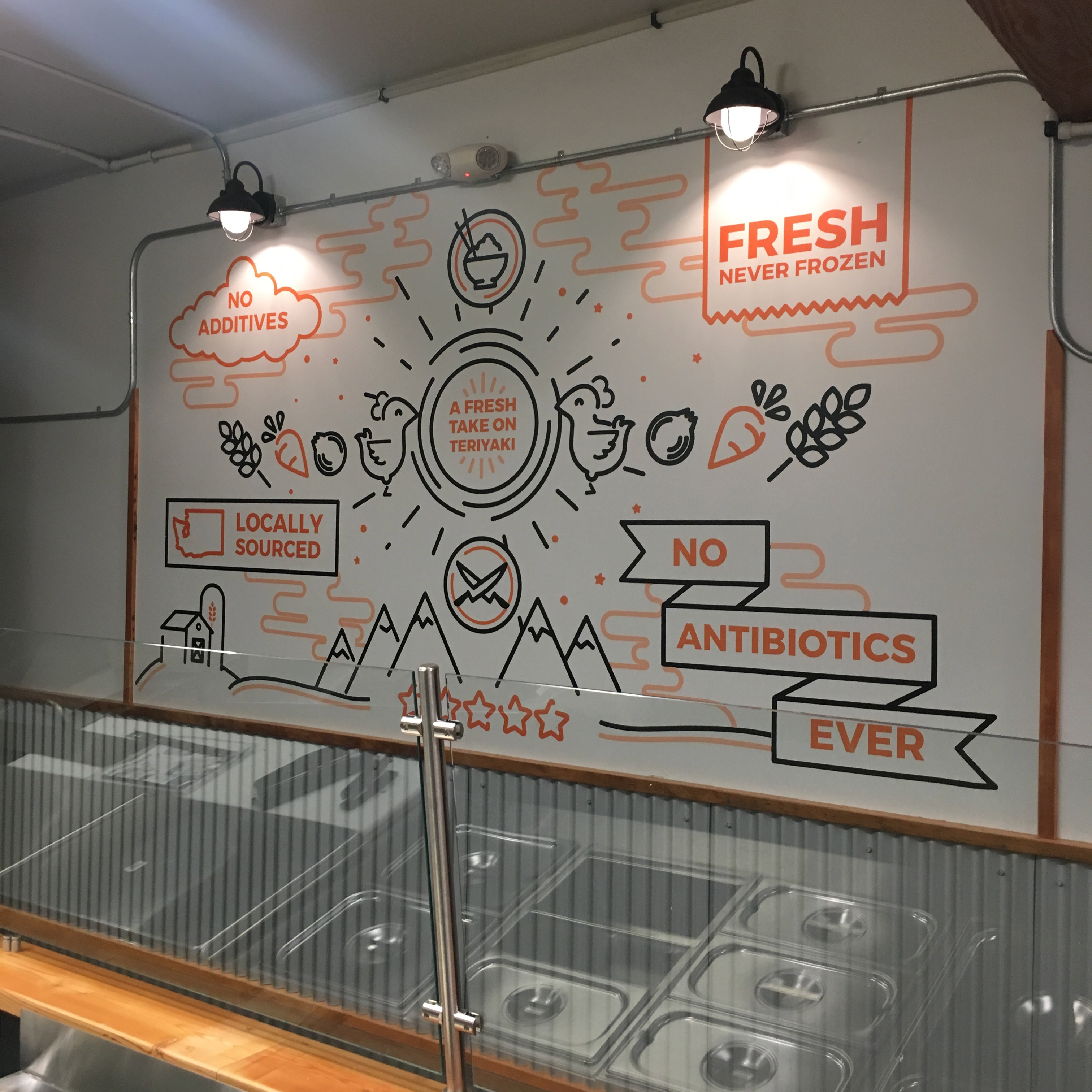 Information Product Mural