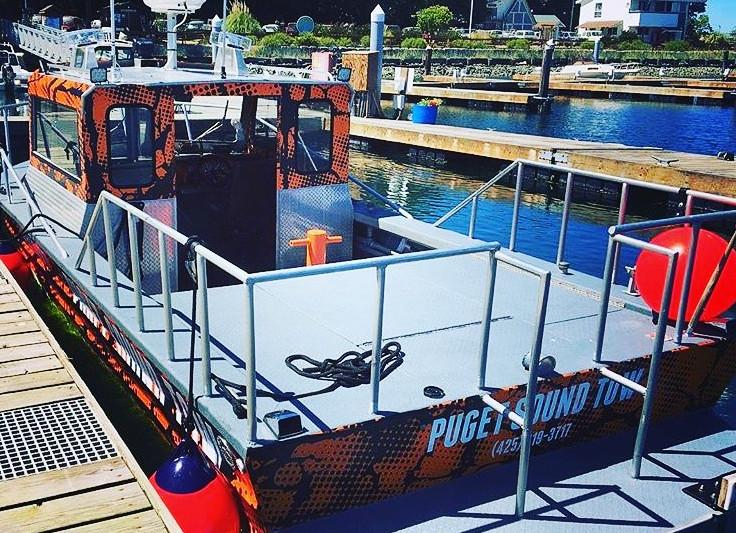 Camo Boat Wrap