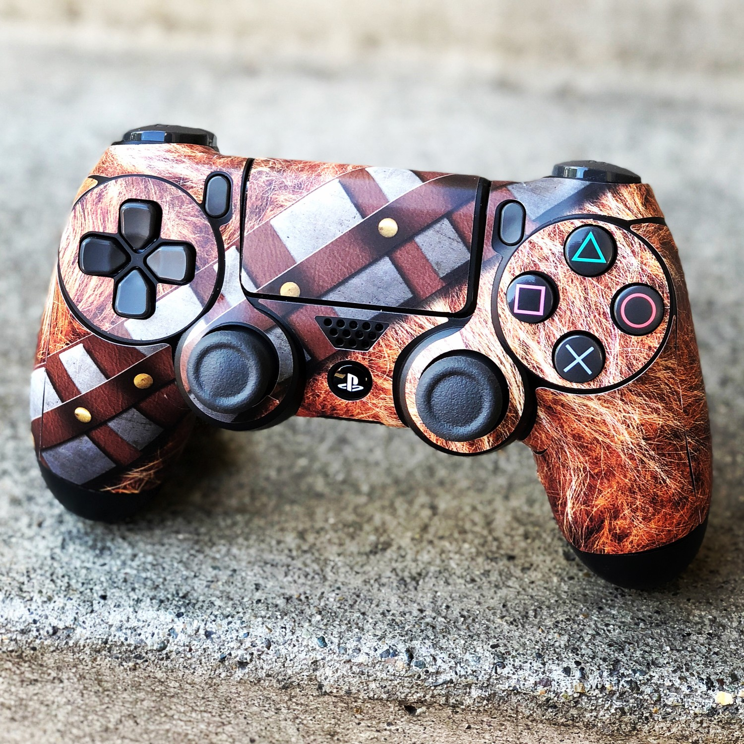 Wookie Wrap on PS4 Controller