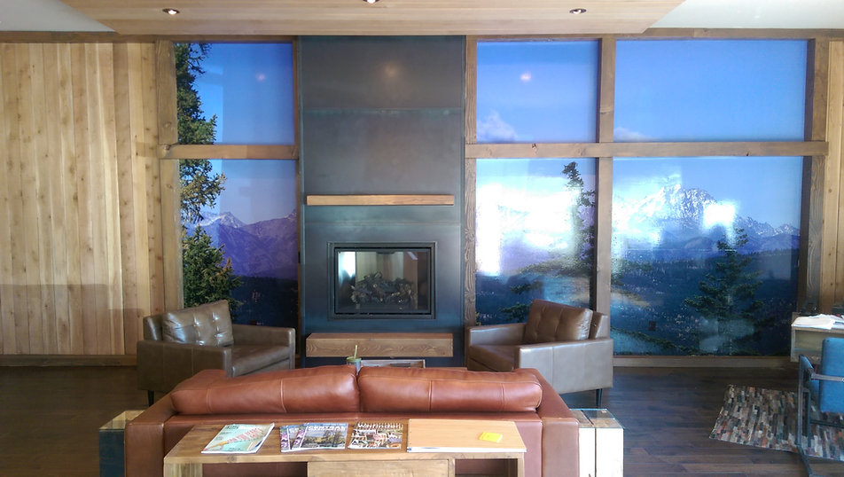 Wall Wrap we installed in Cle Elum