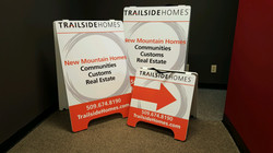 Trail Side home Signage