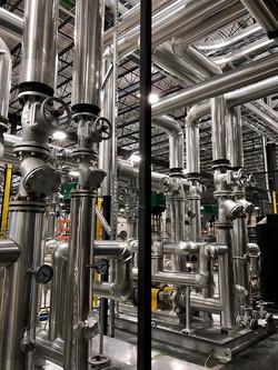 Finition en revêtement d'aluminium
