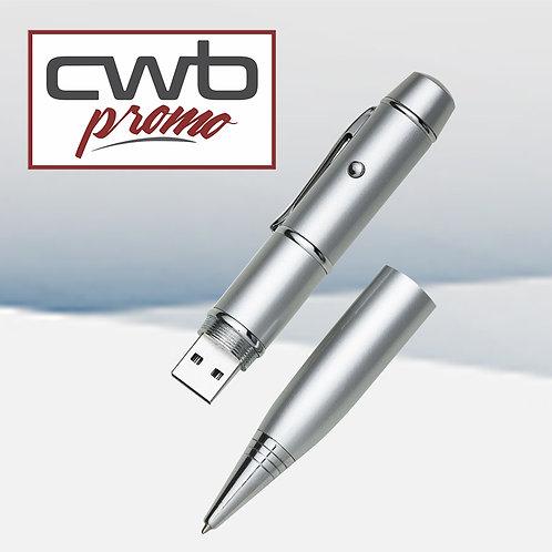 Caneta Pen Drive 4GB e Laser