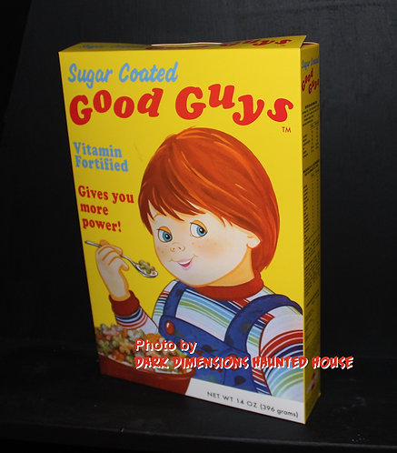 Child's Play Cereal Box Prop