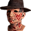 Thumbnail: A Nightmare on Elm Street Deluxe Freddy Krueger Mask with Hat
