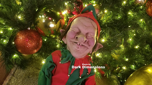 Christmas Holiday Snoozy the Elf Animated Prop