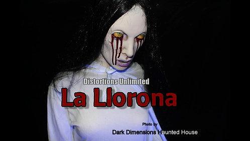 LA LLORONA Animated Frightronic PROP
