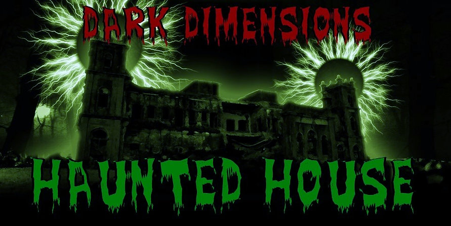 Dark Dimensions Haunted House Logo