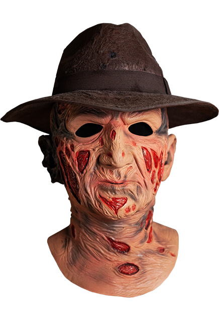 A Nightmare on Elm Street Deluxe Freddy Krueger Mask with Hat