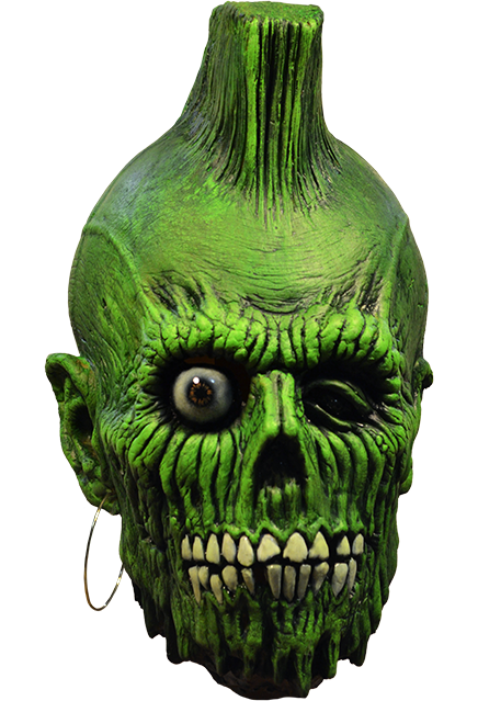 The Return of the Living Dead Mohawk Zombie Mask