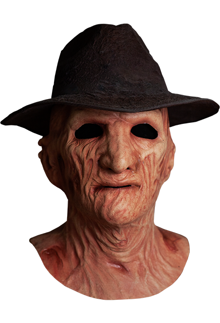 A Nightmare on Elm Street 2 Freddy's Revenge Deluxe Freddy Mask with Hat