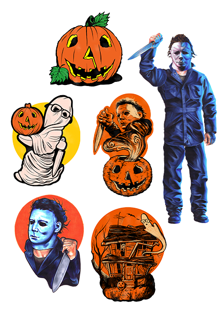 Halloween 1978 Collection Michael Myers - Wall Decoration Series 1