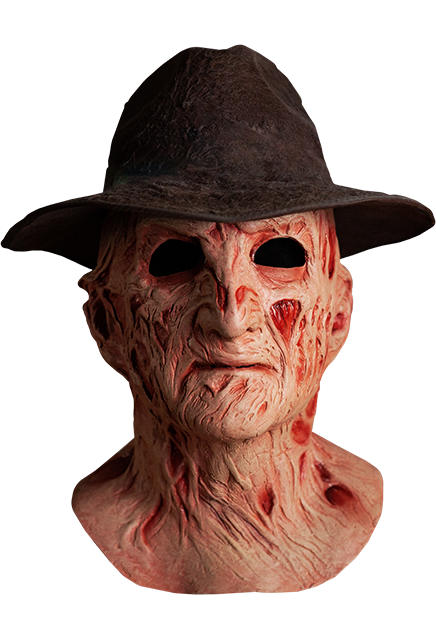 A Nightmare on Elm Street 4 The Dream Master Deluxe Freddy Mask with Hat