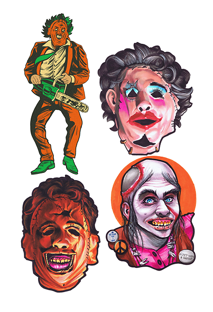 The Texas Chainsaw Massacre Wall Decoration Series 1