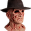 Thumbnail: A Nightmare on Elm Street 4 The Dream Master Deluxe Freddy Mask with Hat