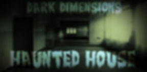 Dark Dimsnions Haunted House Logo