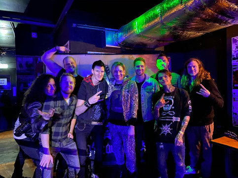 Living Dead Stars finishes U.K. Tour with Alex Band's The Calling